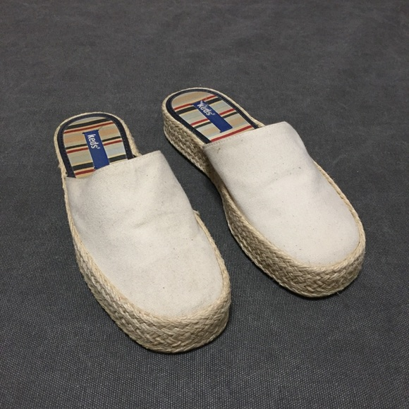 0e9dd9cf2 Keds Shoes | Sale Open Back Slip On Canvas Espadrilles | Poshmark